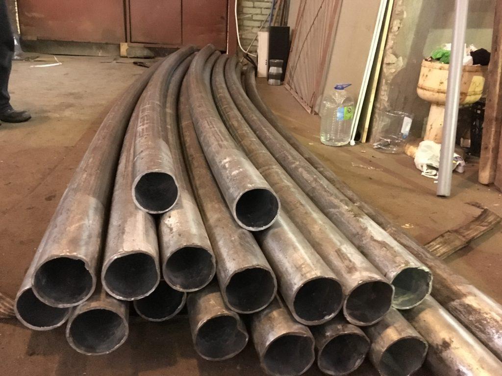 Вальцовка труб 108мм