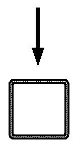 гибка квадратной трубы