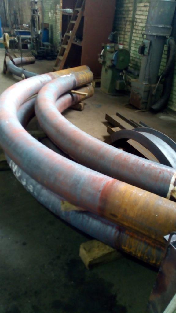 Отвод гнутый Ф273